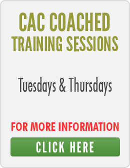 CAC Training Sessions Re-Commence